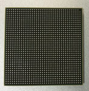Ball Grid Array of Cisco 3850 ASIC
