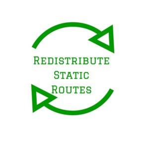 Redistribute named and Tagged Static routes